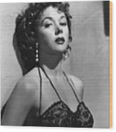 Naked Alibi, Gloria Grahame, 1954 Wood Print