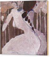 Naked Dream Wood Print