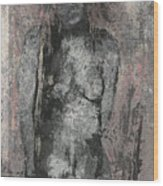 Naked Woman But Not Sexy Woman N.2 Wood Print
