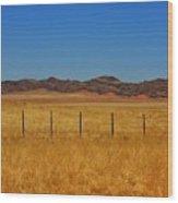 Namib Desert 3 Wood Print