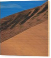 Namibia Sand Dune Wood Print