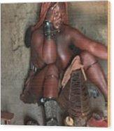 Namibia Tribe 1 Wood Print