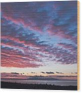 Nanabijou Sunrise Wood Print