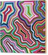 Nanas Quilt Wood Print