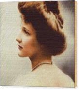 Nancy Witcher Langhorne Astor Wood Print