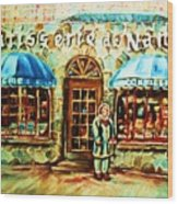Nancys Fine Pastries Wood Print