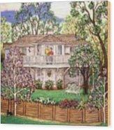 Nancy's House Wood Print
