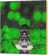 Nano Darth Vader - Pa Wood Print
