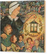 Nano Nagle, Foundress Of The Sisters Of The Presentation Wood Print