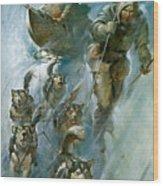 Nansen Conqueror Of The Arctic Ice Wood Print