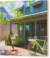 Nantucket - Architecture Series 10y Wood Print