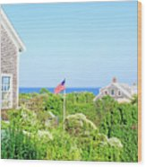 Nantucket cottages overlooking the sea iphone 7 case for for Nantucket by the sea