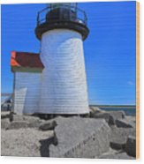Nantucket Lighthouse Y1 Wood Print