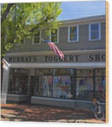 Nantucket Murrays Toggery Shop - Y1 Wood Print