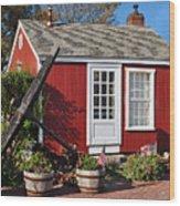 Nantucket Wood Print