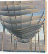 Napier Pier 2016 Wood Print