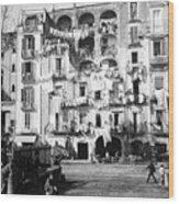 Naples Italy - C 1901 Wood Print