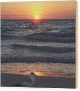 Naples Sunset 0042 Wood Print