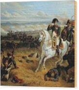 Napoleon In Wagram Wood Print