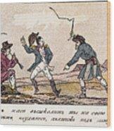 Napoleon: Russian Campaign Wood Print