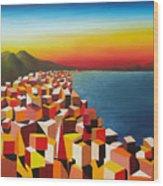 Napule' Mille Culure Wood Print