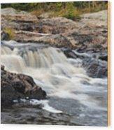 Naraguagus River Wood Print by Steven Scott