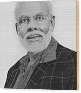 Narendra Modi Wood Print