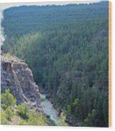 Narrow Gauge Railroad Wood Print