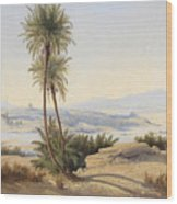 Naser In The Province Of Sukot Wood Print