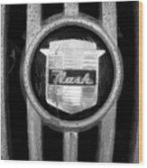Nash Emblem Wood Print