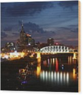 Nashville-2 Wood Print