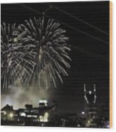 Nashville 4th Of July Wood Print