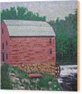 Nashville Gristmill Wood Print