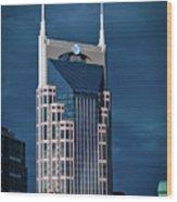 Nashville Landmarks Wood Print