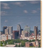 Nashville Skyline 1 Wood Print
