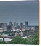 Nashville Skyline 2 Wood Print