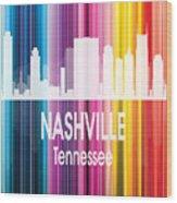 Nashville Tn 2 Vertical Wood Print