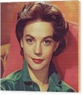 Natalie Wood, Vintage Actress Wood Print