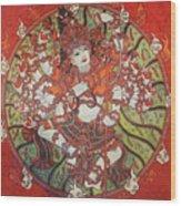 Nataraja Mural Wood Print