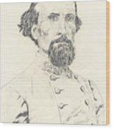 Nathan Bedford Forrest Wood Print