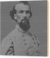 Nathan Bedford Forrest Wood Print by War Is Hell Store