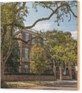 Nathaniel Russell House Wood Print