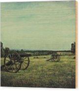 National Battlefield Park - Manassas Va Wood Print