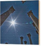 National Capitol Columns #2 Wood Print