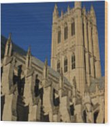 National Cathedral 2 Wood Print