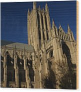National Cathedral 3 Wood Print