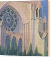 National Cathedral Wood Print by Don Perino