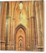 National Cathedral Wood Print