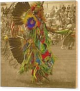National Championship Pow Wow - Grand Prairie, Tx Wood Print