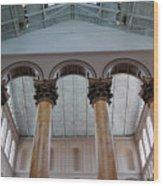 National Columns Wood Print